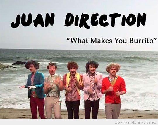 Burrito Humor - Juan Direction