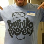 The Burrito Project - T-Shirt - Light-Blue